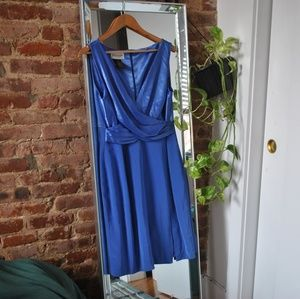 Soft Blue Emanuel Ungaro Midi Dress 👗